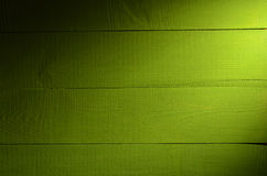 Green wooden background close up Royalty Free Stock Photography