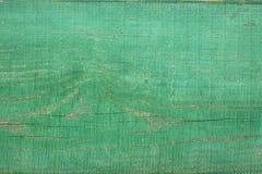Green wooden board Royalty Free Stock Photos