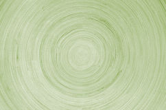 Green wooden circles on full frame Royalty Free Stock Images