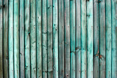 Green Wooden Fence Stock Photos