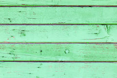 Green wooden fence background Royalty Free Stock Photo