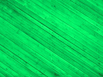 Green wooden floor Royalty Free Stock Photos