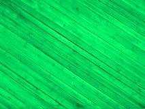 Green wooden floor Royalty Free Stock Photos
