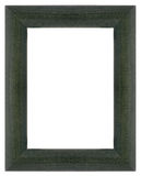 Green wooden frame Stock Photos