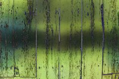 Green wooden grungy panels, background royalty free stock images