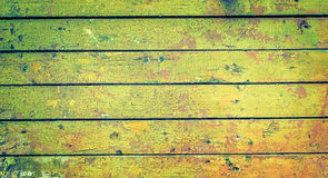 Green wooden old plank texture Royalty Free Stock Photography