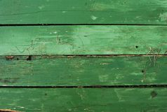 Green wooden plank background natural. Wooden planks nature series of dirty green background Stock Photos