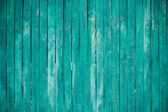 Green wooden planks Royalty Free Stock Images