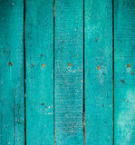 Green wooden planks Stock Images