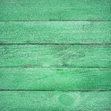 Green wooden planks texture Royalty Free Stock Image
