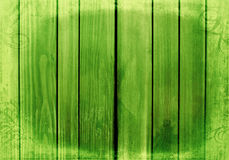 Green wooden retro background Royalty Free Stock Images
