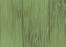 Green wooden texture. Vector background. Stock Image