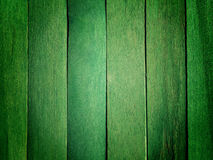 Green wooden wall Royalty Free Stock Photography