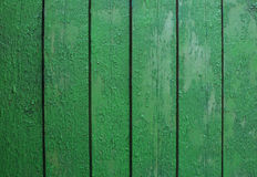 Green wooden wall background Stock Photo
