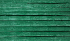 Green wooden wall background Royalty Free Stock Photo