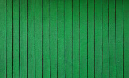 Green wooden wall background Royalty Free Stock Photography