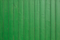Green wooden wall background Royalty Free Stock Photos