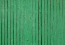 Green wooden wall background Stock Images