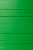 Green wooden wall panel as background Royalty Free Stock Images