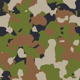 Green woods seamless camo Royalty Free Stock Photo