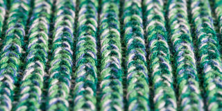 Green wool Stock Photography