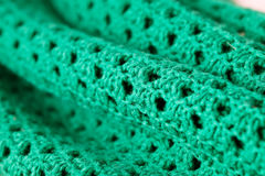 Green wool Royalty Free Stock Images