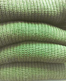 Green wool jumpers Royalty Free Stock Images
