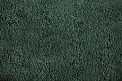 Green wool material Royalty Free Stock Photo