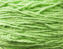 Green Wool Texture Stock Photography