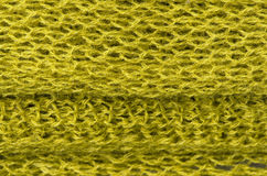 Green wool texture Royalty Free Stock Photography