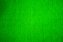 Green Woolen fabric. Woolen textured shawl in green color Stock Images
