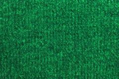 Green woolen pattern. Stock Images