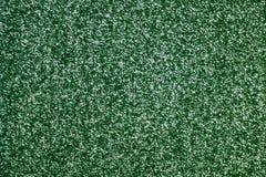 Green woolen surface. Stock Photography