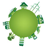 The green world. Royalty Free Stock Photos