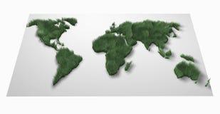 Green world. Illustration stock illustration