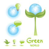 Green world Stock Images