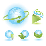 Green world Stock Image