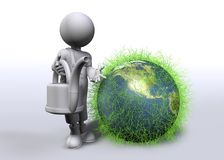 Green World Royalty Free Stock Photos