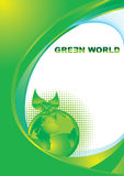 Green world concept Stock Image