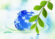Green world concept Stock Images