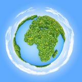 Green world Stock Photography