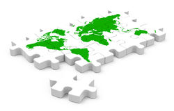 The green world Royalty Free Stock Photos