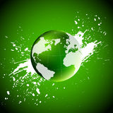 Green world. Ecology concept Royalty Free Stock Photos