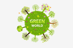 Green World. Vector Royalty Free Stock Images