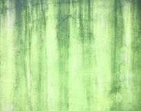 Green worn plaster wall texture Stock Images