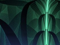 Green Woven Mesh Abstract Stock Photo