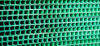 Green woven metallic grunge grid striped abstract background Stock Photography