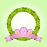 Green wreath Royalty Free Stock Photos