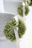 Green Wreath On a white  Stock Photography