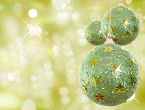 Green Xmas Royalty Free Stock Images